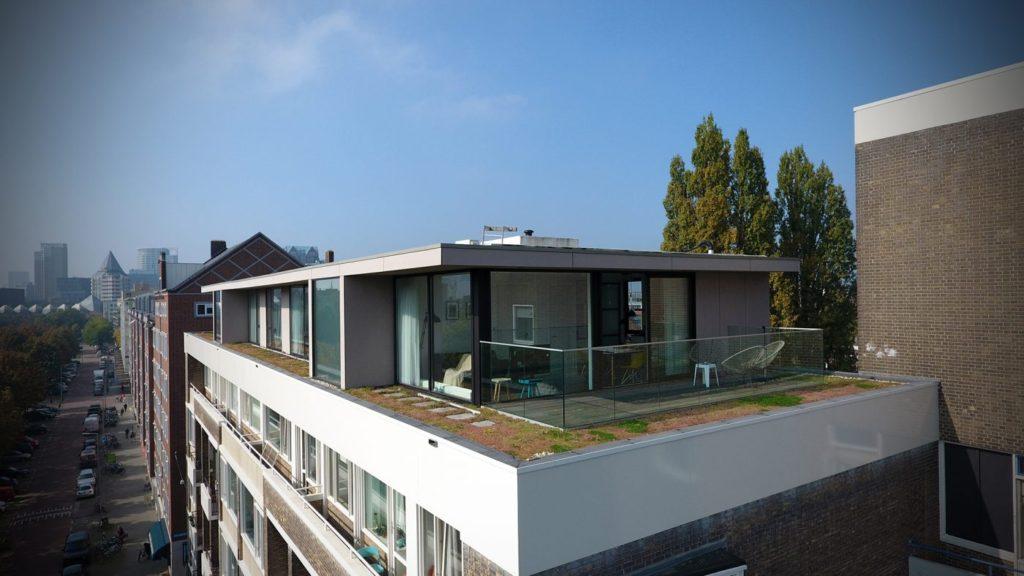 Verbouwing Dakopbouw Penthouse Oostplein